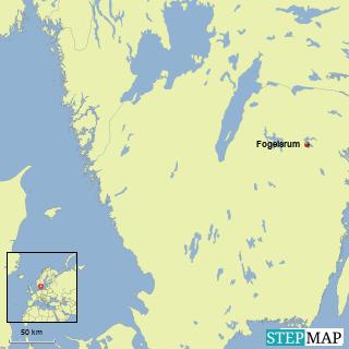 Ostergotland, Asundensee