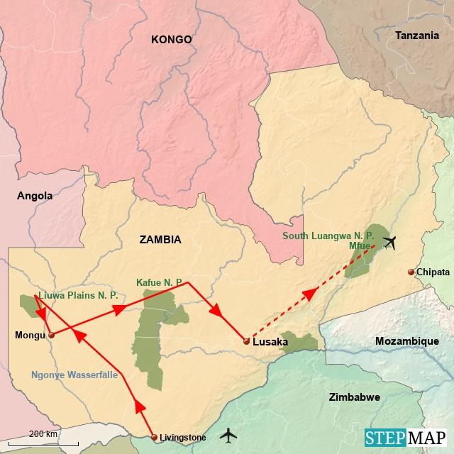 ZA Unentdecktes Zambia