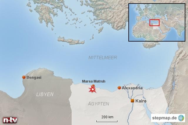 Angriff libyscher Rebellen in Ägypten