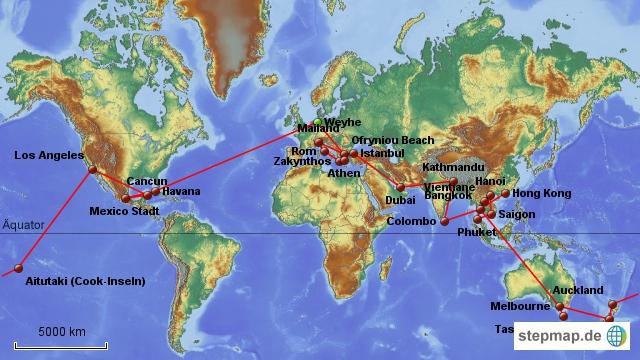 Die lange Reise der Weltverwandten