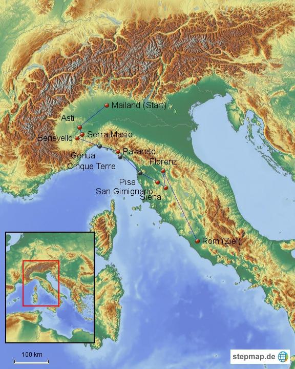 Italien im Detail