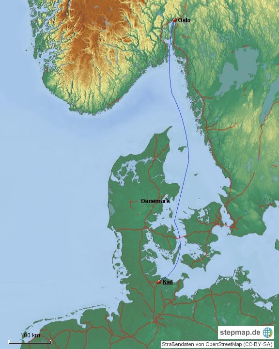 Fähre Kiel - Oslo