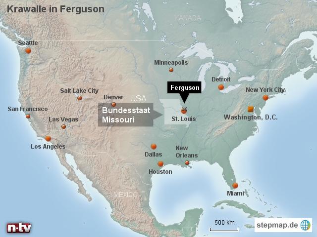 Krawalle in Ferguson