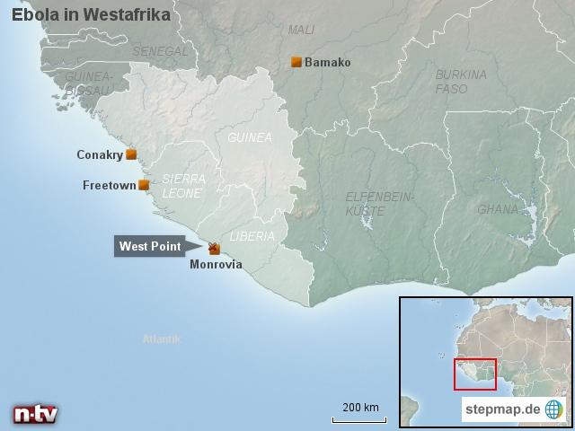 Ebola in Westafrika: Infizierte fliehen aus Klinik