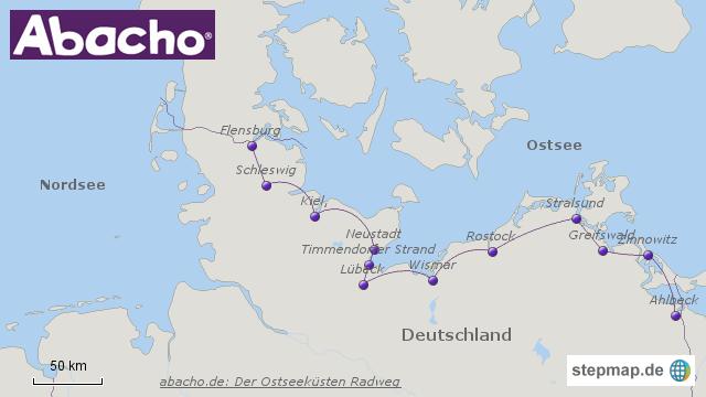 Der Ostseeküsten Radweg