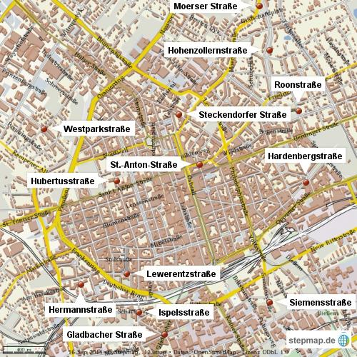 Blitzmarathon Krefelder Innenstadt (16.9.14)