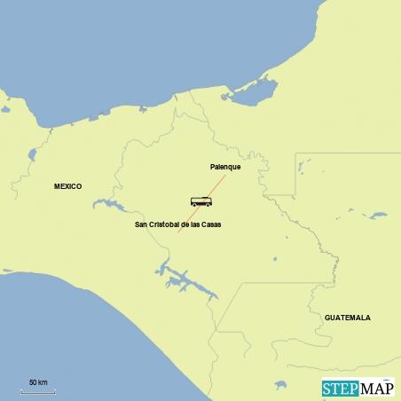 Von Palenque nach San Cristobal de las Casas