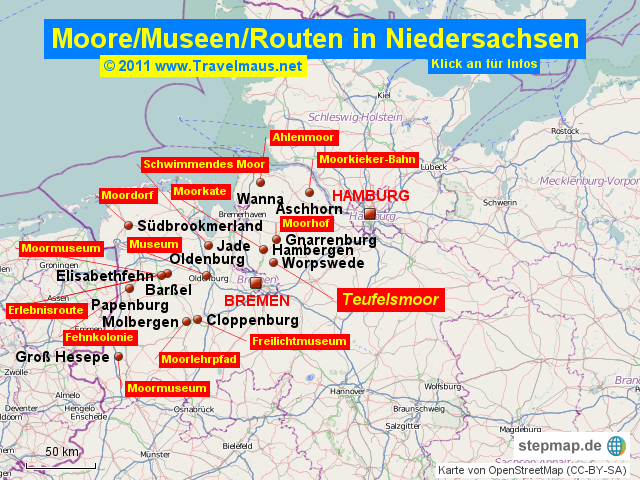 Moore in Niedersachsen