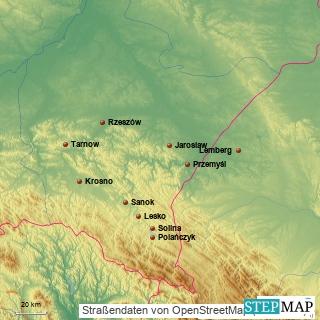 Die Karpaten und der Solinasee