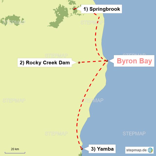 Rund um Byron Bay