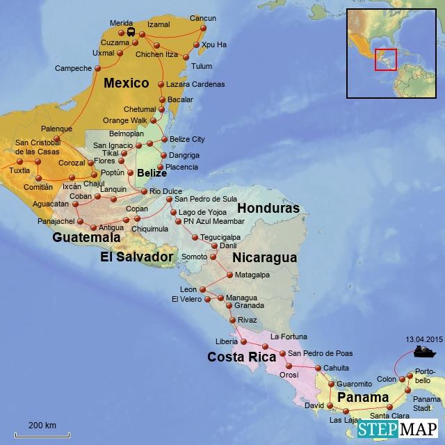 Mexico - Zentralamerika 2015