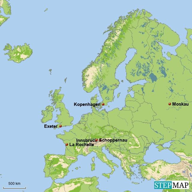 Wo sind sie geblieben? In Europa