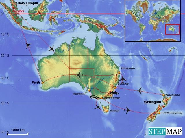 Karte Neuseeland Südinsel Zum Ausdrucken.Roaring Forties Und Furious Fifties F E R N W E H