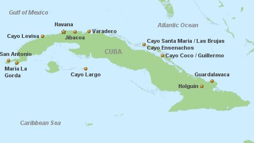 Cuba Beach Holiday - English