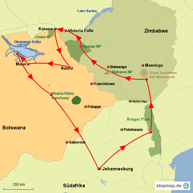 Zim Zim&Botswana Entdecker