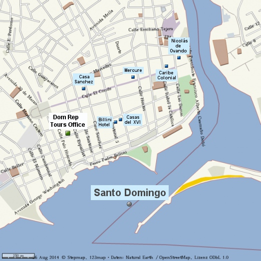 Dominikanische Republik Santo Domingo EN neu