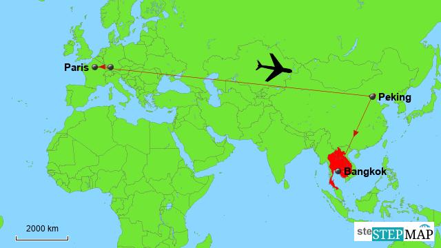 Südostasien Reise