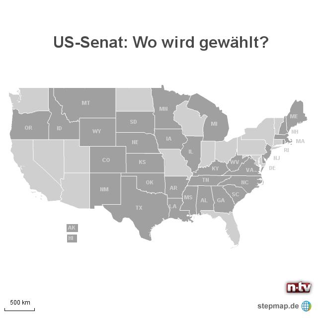Midterm Elections: Senatswahlen in den USA 2014