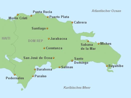 Dominikanische Republik Hotels à-la-Carte