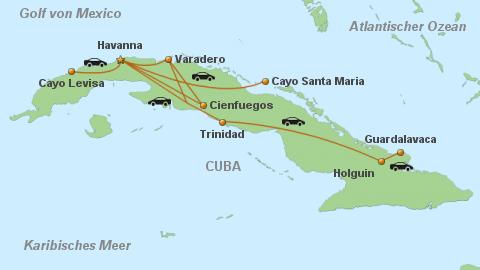 Karte Kuba Varadero.Cuba Real Tours Transfer Cuba
