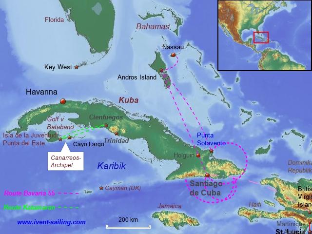 Segelreise Kuba