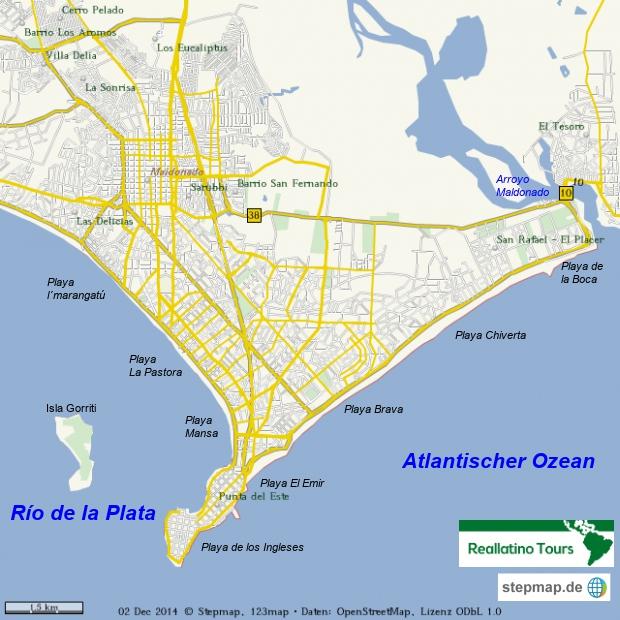 Punta del Este Stadt