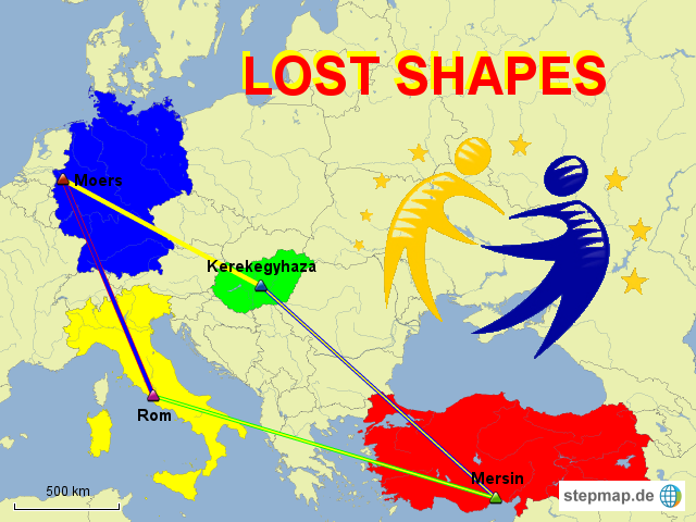 Lost shapes - etwinning