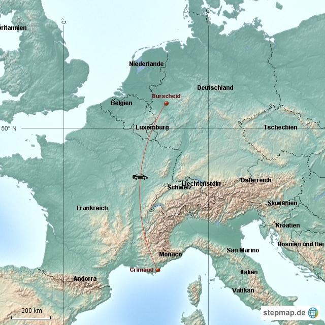 Frankreich - Grimaud 2009/10