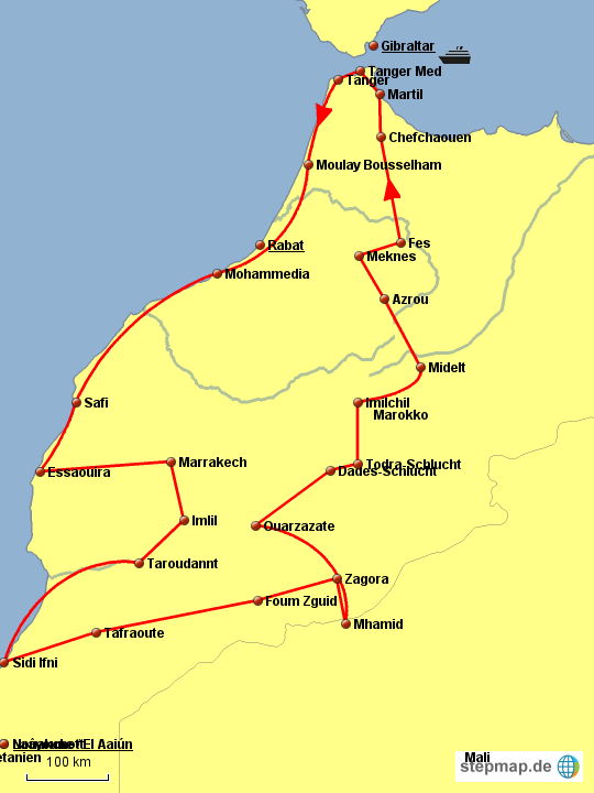 Reise Marokko 2014