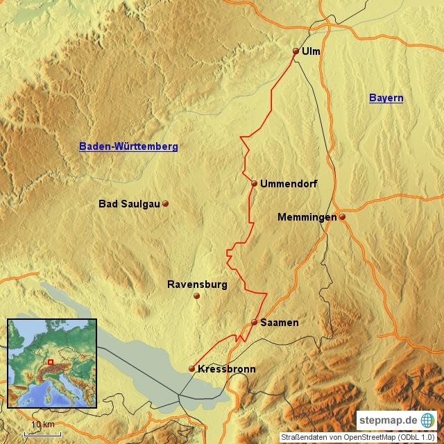 Donau Bodensee Radweg Fahrradtouren In Deutschland