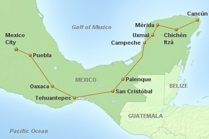Rundreise Mexico Clásico
