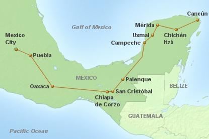 Rundreise Mexico Tradicional