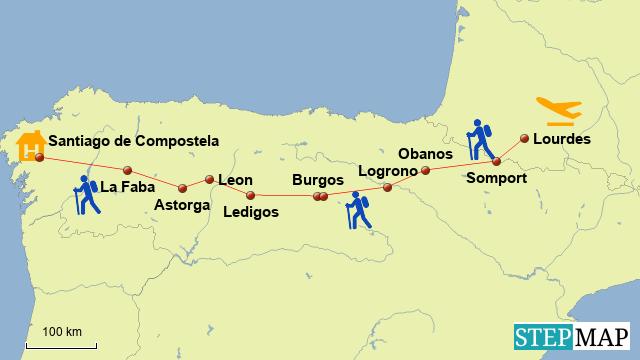 Camino Aragones 2015