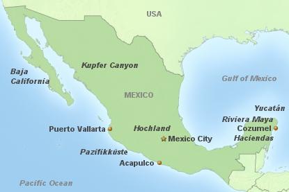Mexico auf einen Blick