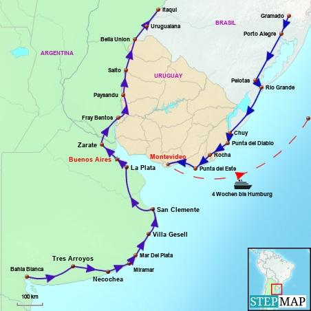 Argentina East / Uruguay