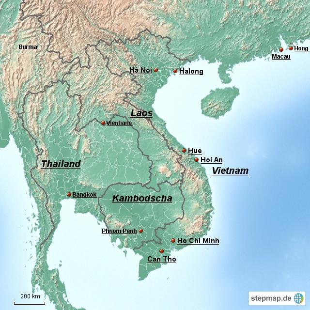 Vietnam-Reise