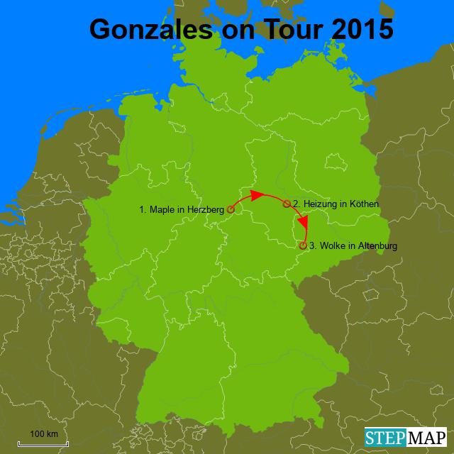 Garnele On Tour 2014