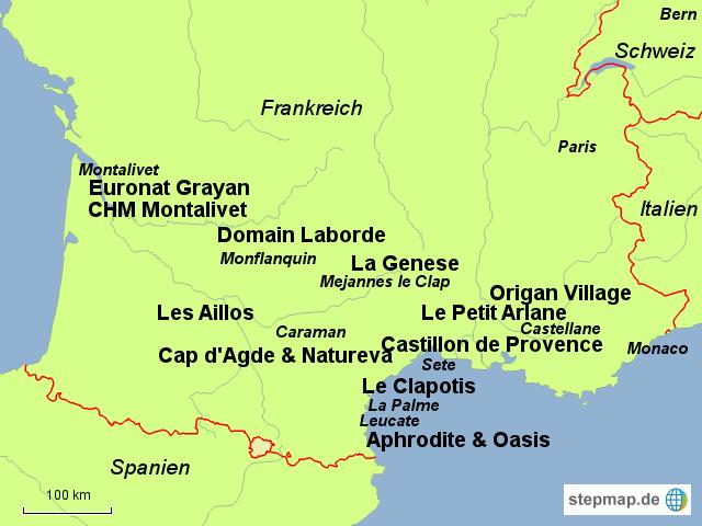 FKK-Urlaub in Frankreich