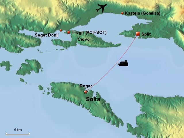 Split/Trogir