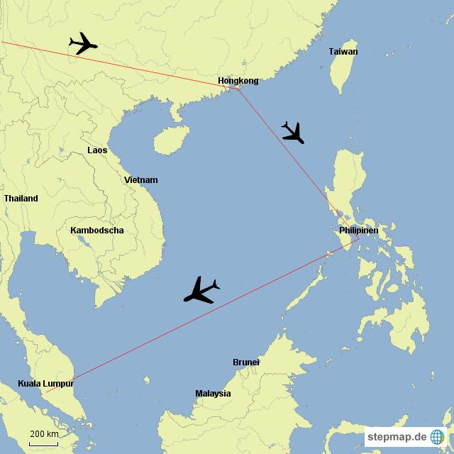 Nach 4 Tagen Hongkong geht es für gut drei Wochen auf die Philippinnen (wohin genau weiß ich noch nicht). Dann 4 Tage nach KL und auf dem Heimweg noch 2 Nächte nach Doha.