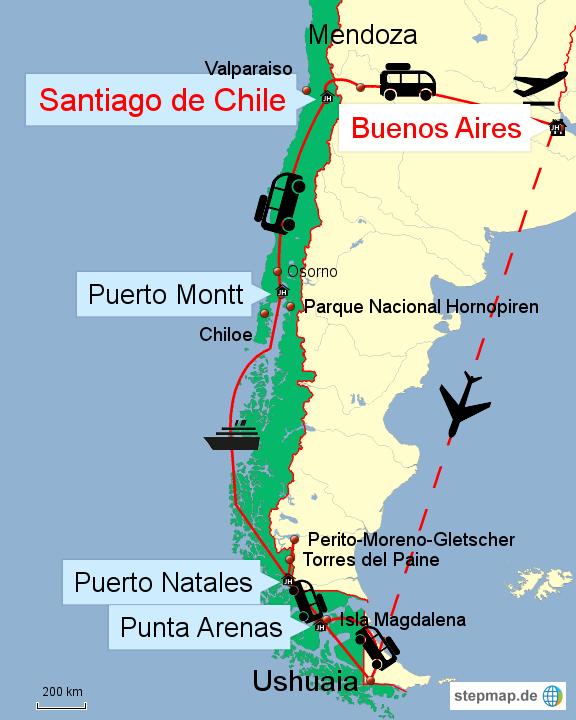 Argentinien und Chile