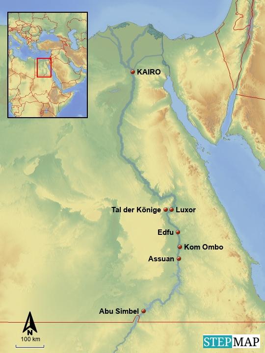 Ägypten - Nilkreuzfahrt