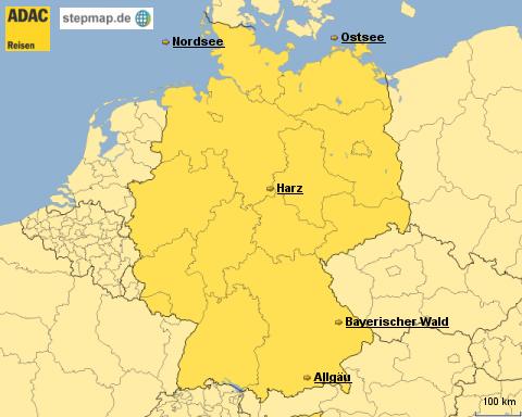 ADAC Reisen Ferienwohnungen Deutschland