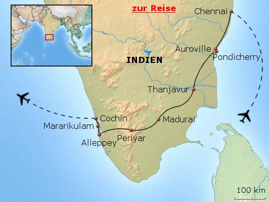 Südindien erleben - Natur, Kultur, Yoga und Spiritualität