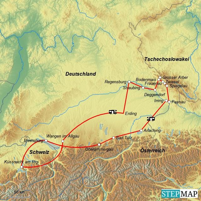 Bayerischer Wald 01.09. bis 14.09.2012