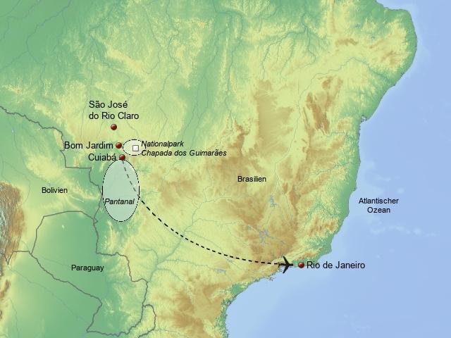 Brasiliens einzigartiger Tierwelt