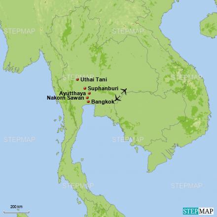 3 Tage unbekanntes Thailand