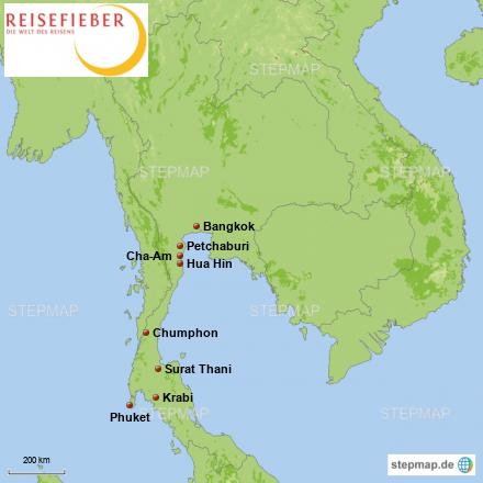 5 Tage Südthailand & Andaman Meer