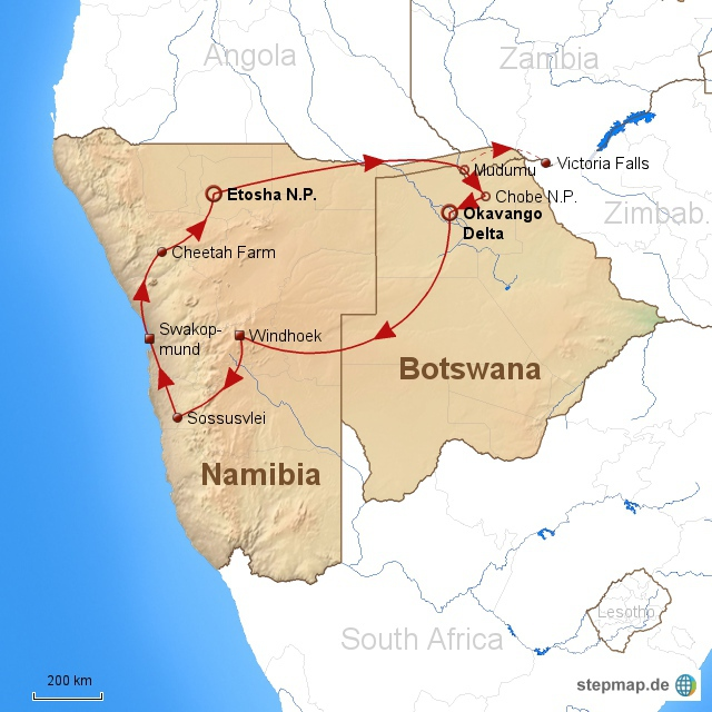 Namibia und Botswana 2