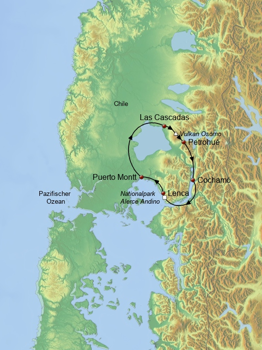 Vulkane, Wälder & Fjorde